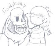 undertale friendship